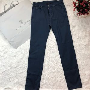 Brunello Cucinelli Blue Pants